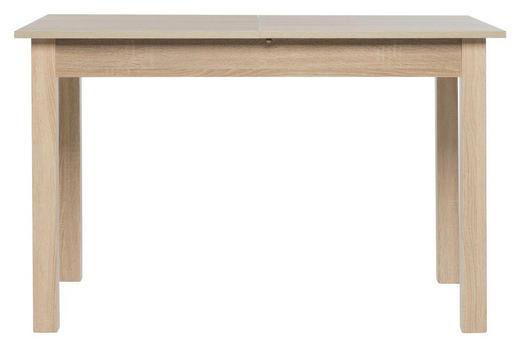 ESSTISCH Eichefarben - Eichefarben, Design (120/160/70/76,5cm) - Carryhome