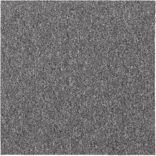 TEPPICHFLIESE - Hellgrau, KONVENTIONELL, Textil (50/50cm) - Esposa