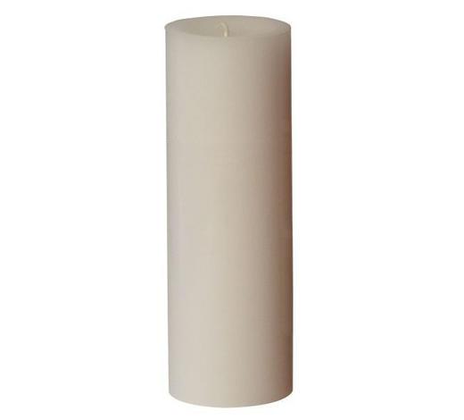 STUMPENKERZE 6,8/20 cm  - Weiß, Basics (6,8/20cm) - Steinhart