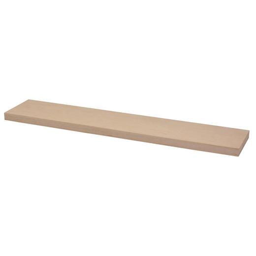 WANDBOARD Holz Paulownia massiv Braun - Braun, Basics, Holz (60/23,5cm)