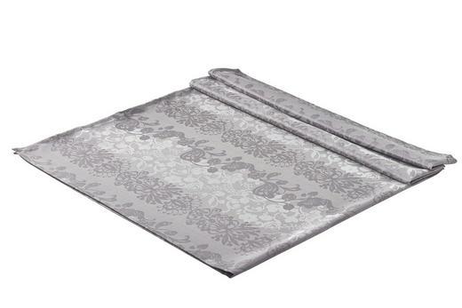 TISCHDECKE Textil Jacquard Graphitfarben 130/170 cm - Graphitfarben, Basics, Textil (130/170cm)