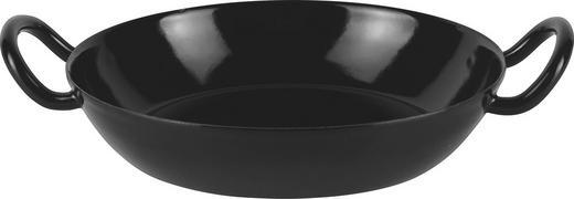 PFANNE 20 cm - Schwarz, Basics, Metall (20cm) - Riess
