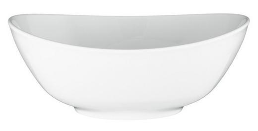 SCHÜSSEL Keramik Porzellan - Weiß, Basics, Keramik (25,5cm) - Seltmann Weiden