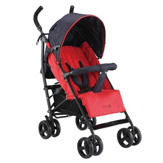 Knorr-Baby Buggy  Styler  Rot, Schwarz - Rot/Schwarz, Basics, Textil/Metall (67/48/98cm)