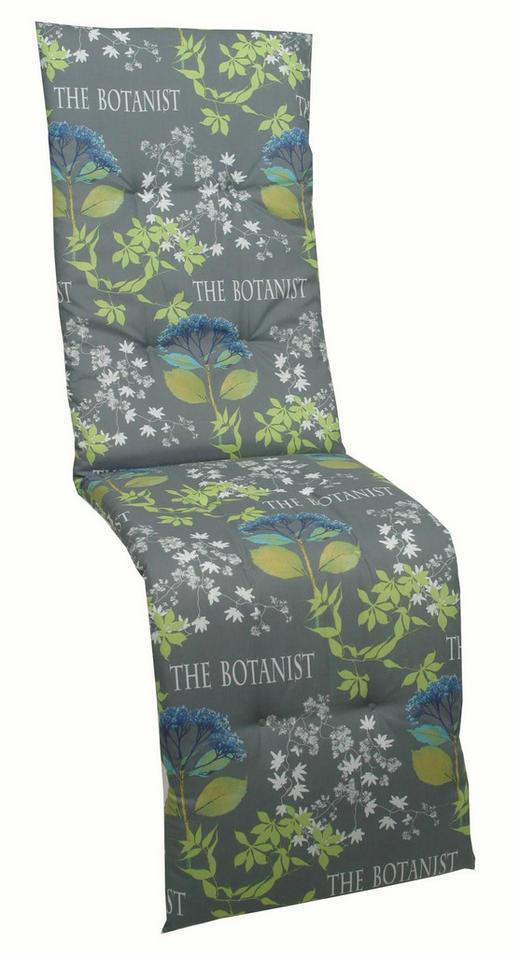 JASTUK ZA RELAKS FOTELJU - siva/zelena, Design, tekstil (48/170/5cm) - AMBIA GARDEN