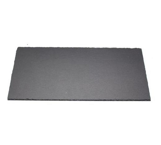 PLATZTELLER 20/40 cm - Schieferfarben, KONVENTIONELL, Kunststoff/Stein (20/40cm) - Ambia Home