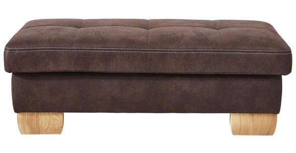 WOHNLANDSCHAFT Braun  - Eichefarben/Beige, LIFESTYLE, Textil (185/343/243cm) - Voleo