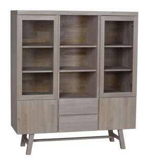 HIGHBOARD - naturfärgad, Klassisk, trä (130/150/45cm) - Rowico