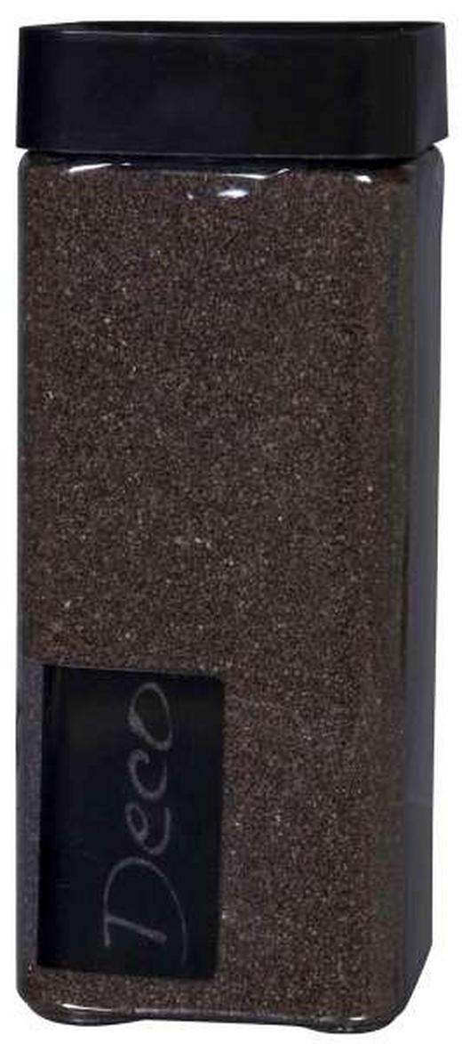 DEKORATIONSSAND - mörkbrun, Basics (0,55l) - AMBIA HOME