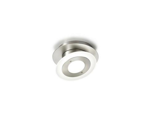 DECKENLEUCHTE - Nickelfarben, LIFESTYLE, Metall (13,3cm)