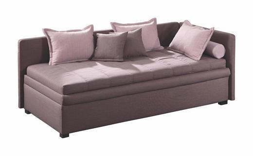 LIEGE Braun - Schwarz/Braun, Design, Kunststoff/Textil (90/200cm) - ESPOSA