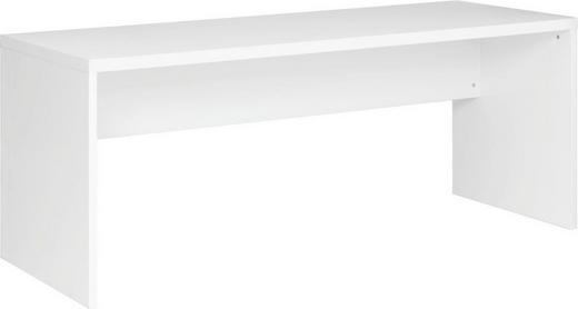 SCHREIBTISCH Weiß - Weiß, Design, Holz (180/75/69cm) - Carryhome