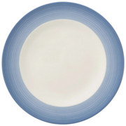 FRÜHSTÜCKSTELLER 21,5 cm - Blau/Creme, KONVENTIONELL, Keramik (21,5cm) - Villeroy & Boch