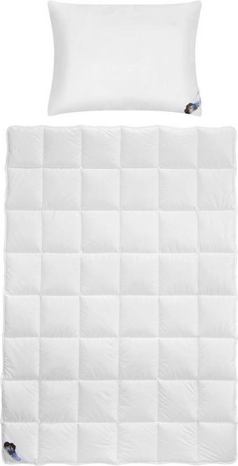 BETTENSET FEELINGS 135/200 cm - Weiß, KONVENTIONELL, Textil (135/200cm) - Billerbeck