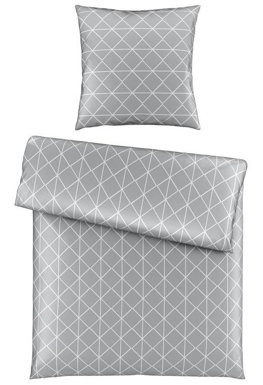 BETTWÄSCHE Satin Silberfarben 135/200 cm - Silberfarben, Design, Textil (135/200cm) - Novel