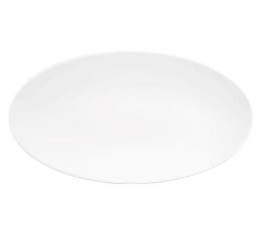 SERVIERPLATTE - Weiß, KONVENTIONELL, Keramik (33/18cm) - Seltmann Weiden