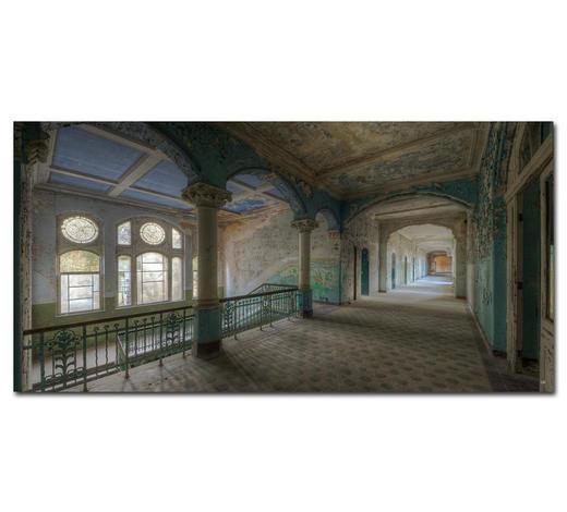 """Architektur BILD """"DREAM A LITTLE DREAM""""  - Multicolor, Basics, Holzwerkstoff/Kunststoff (100/50cm) - Wiedemann"""