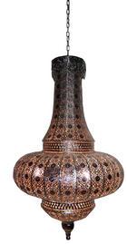 HÄNGELEUCHTE - Silberfarben, Metall (40/70cm)
