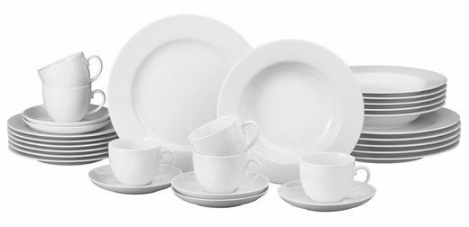Porzellan  KOMBISERVICE 30-teilig - Weiß, Basics, Keramik - Seltmann Weiden