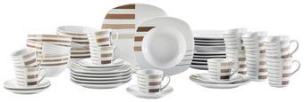 KOMBI SERVIS - bijela/smeđa, Konvencionalno, keramika - Ritzenhoff Breker