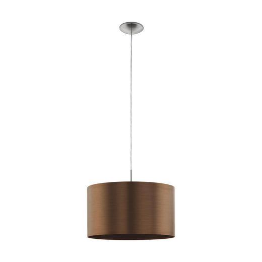 HÄNGELEUCHTE - Braun/Kupferfarben, Design, Kunststoff/Metall (45/110cm)