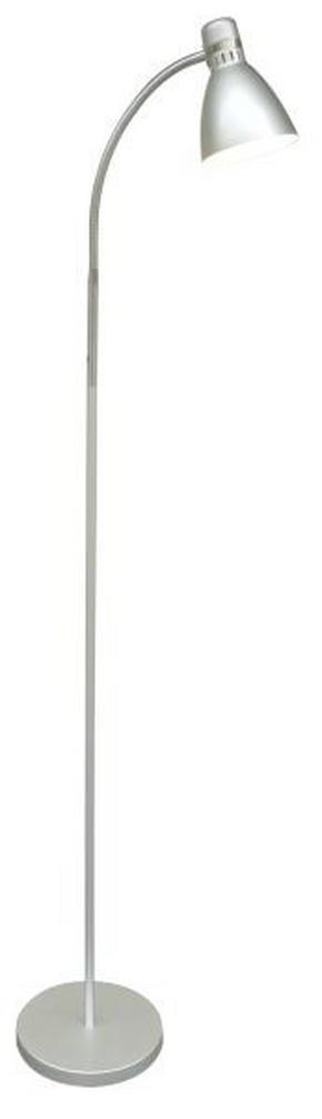 GOLVLAMPA - silver, Basics, metall/plast (22/155cm) - Boxxx