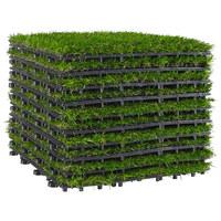 Terrassenfliese - Grün, Design, Kunststoff (30/30/2,9cm) - Ambia Garden