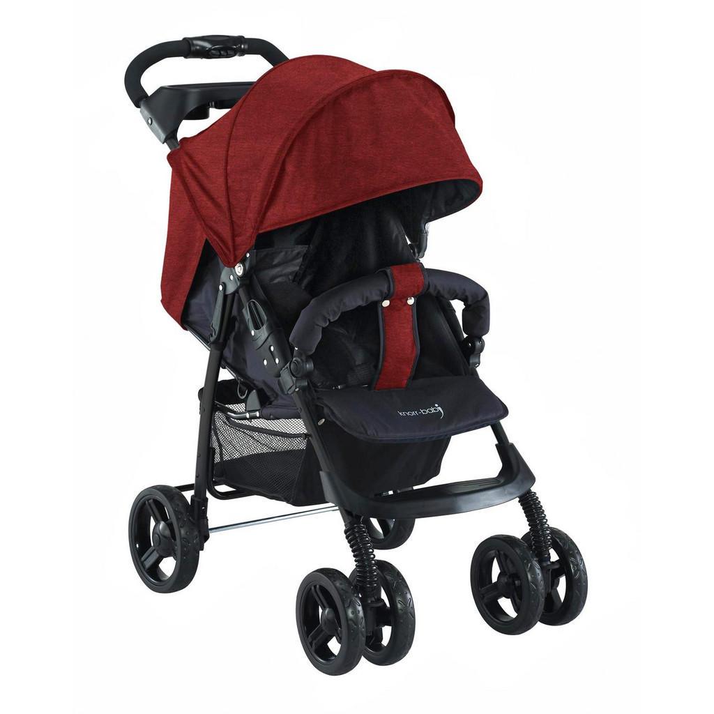 Sportwagen 'V-Easy Fold' in Rot & Schwarz von Knorr-Baby