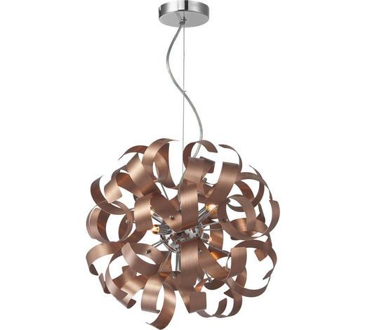 LED-HÄNGELEUCHTE   - Kupferfarben, LIFESTYLE, Metall (40/320cm) - Ambiente