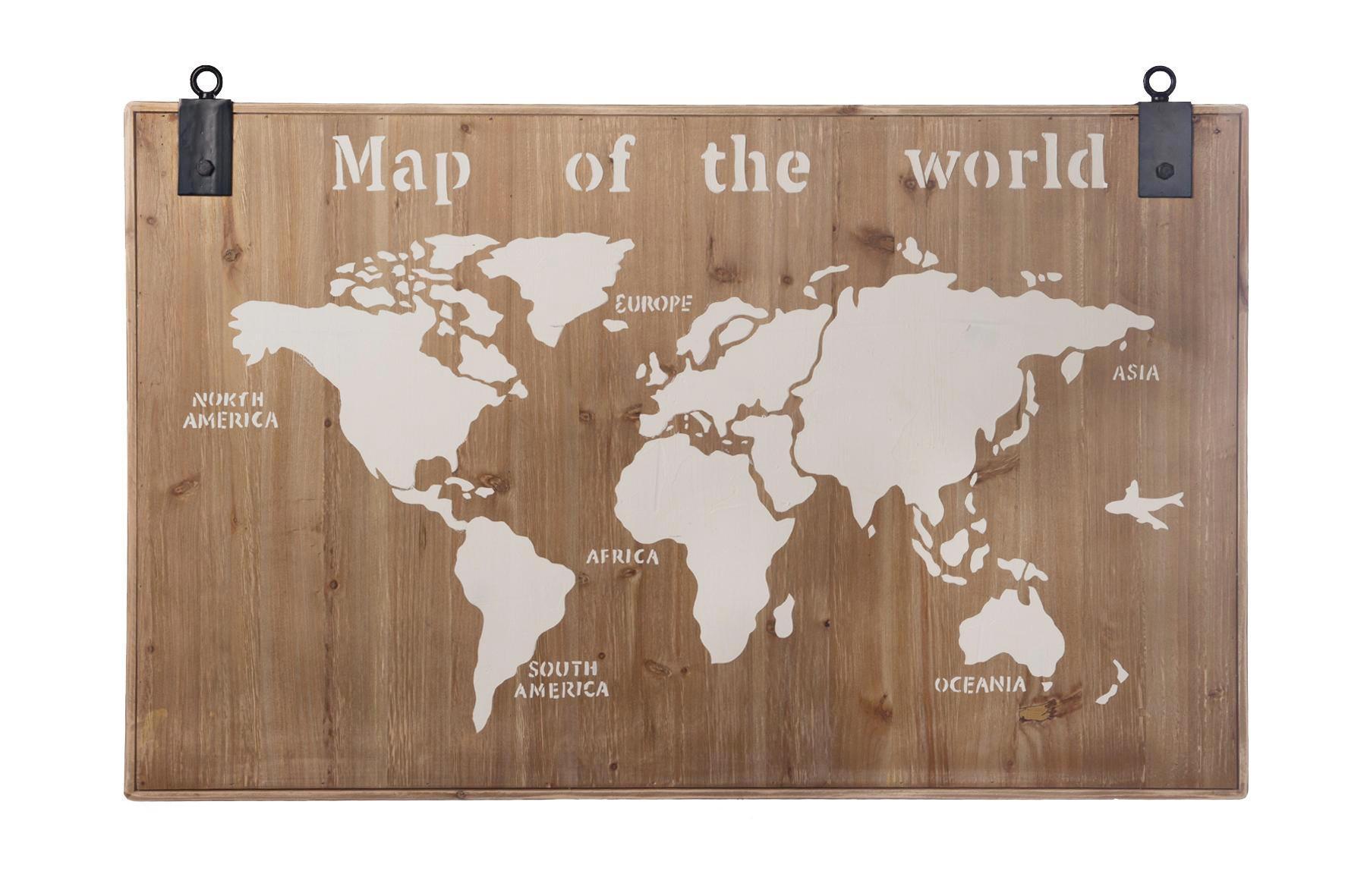 WANDDEKO Holz   Multicolor, Holz (118/78/4cm)