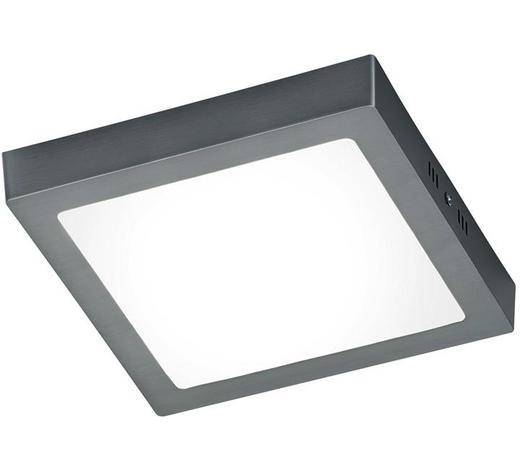 LED-PANEEL - Nickelfarben, Design, Metall (22,5/3,5/22,5cm)