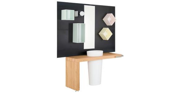 BADEZIMMER - Multicolor/Weiß, Design, Holzwerkstoff/Stein (50/100cm) - Dieter Knoll