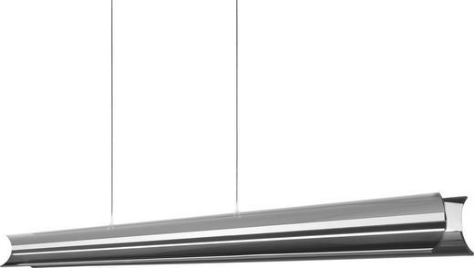 LED-HÄNGELEUCHTE - Chromfarben, LIFESTYLE, Metall (110,5/7,5/210cm)