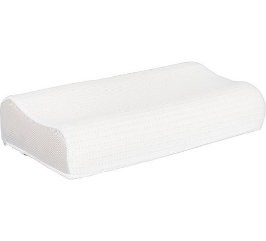 ŠÍJOVÝ OPĚRNÝ POLŠTÁŘ - bílá, Basics, textil (60/31cm) - Ada Austria