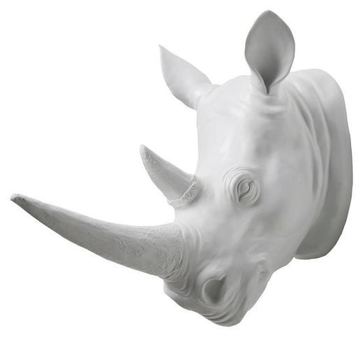 DEKONASHORN Weiß - Weiß, LIFESTYLE, Kunststoff (17,5/29/35cm) - Kare-Design