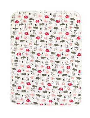 MYSFILT - vit/pink, Basics, textil (75/100cm) - My Baby Lou