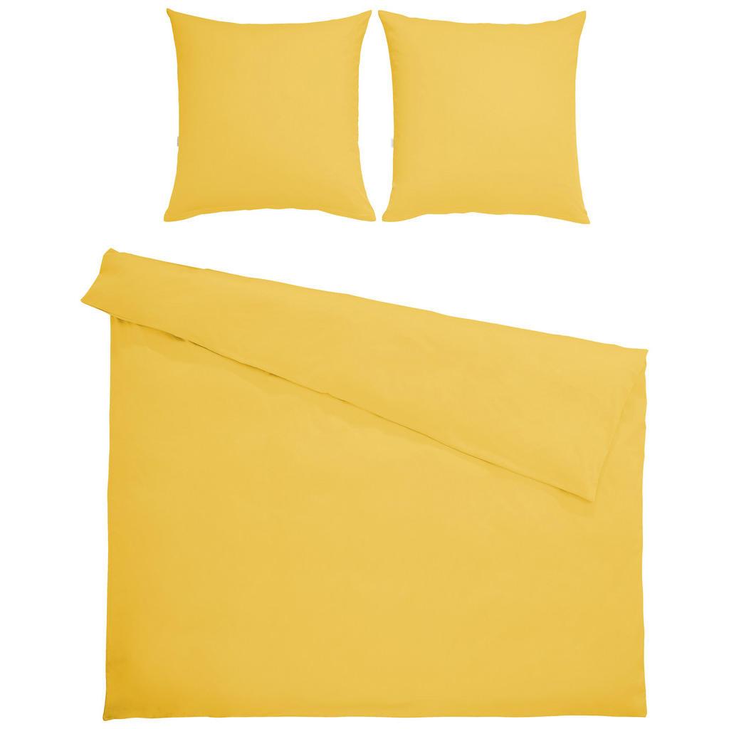 Bio:Vio Bettwäsche satin gelb