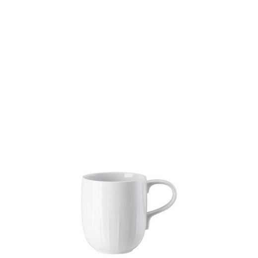 KAFFEEBECHER - Weiß, Basics, Keramik (8,5/10cm)
