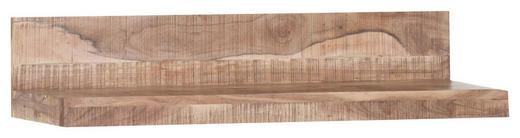 WANDBOARD Akazie massiv Akaziefarben - Akaziefarben, LIFESTYLE, Holz (100/20/25cm) - Hom`in