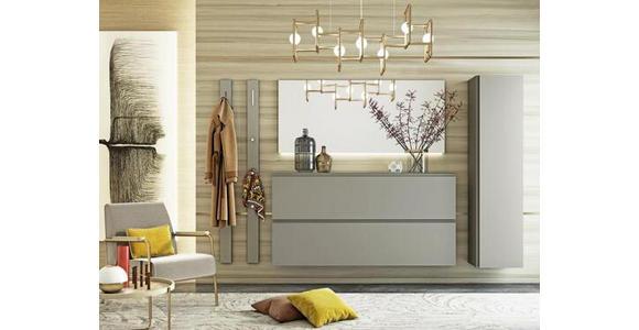 SPIEGEL 150/66/3 cm  - Taupe, Design, Glas/Holzwerkstoff (150/66/3cm) - Moderano