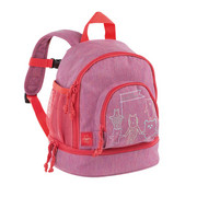 KINDERRUCKSACK - Pink, Trend, Textil (24,5/15,5/27cm) - LÄSSIG