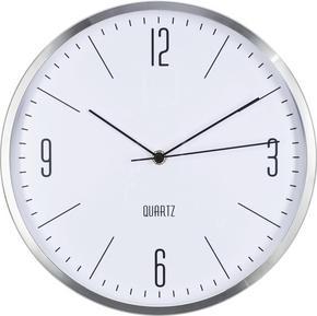 VÄGGKLOCKA - silver, Basics, metall/glas (30//cm) - Boxxx