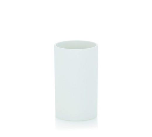 MUNDSPÜLBECHER - Weiß, Basics, Kunststoff (6,5/11,5cm) - Kela