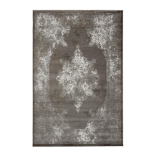 VINTAGE-TEPPICH  160/230 cm  Braun - Braun, Basics, Textil (160/230cm)