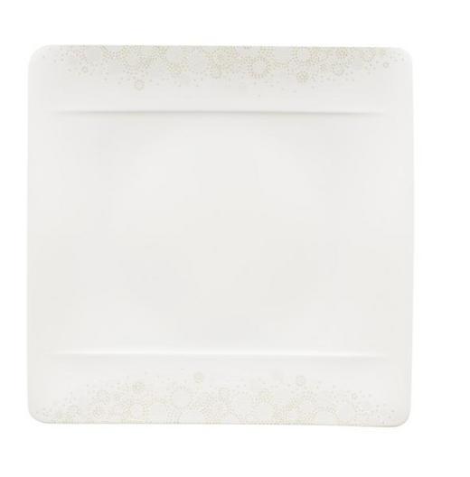 SPEISETELLER Keramik Porzellan - Hellgrau/Weiß, Design, Keramik (27/27cm) - Villeroy & Boch