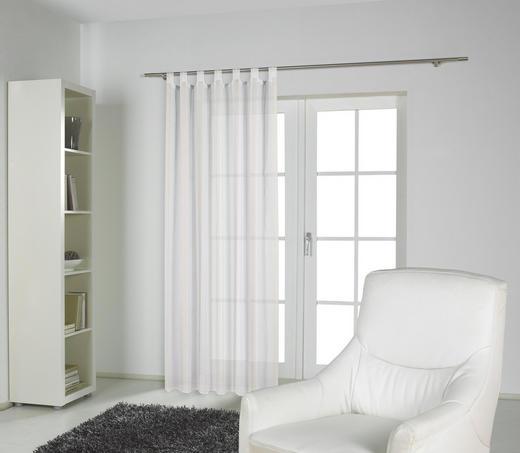 SCHLAUFENSCHAL   135/245 cm - Weiß, Basics, Textil (135/245cm) - ESPOSA