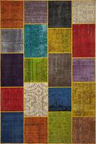 ORIENTALSKA PREPROGA RAINBOW - večbarvno, Trendi, tekstil (120/180cm) - Esposa