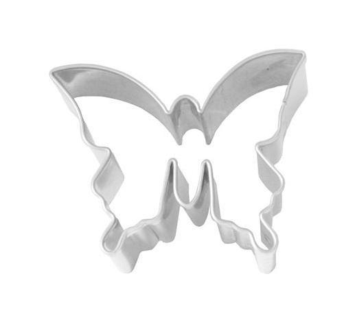 KEKSAUSSTECHFORM - Edelstahlfarben, Basics, Metall (5/4/2,5cm) - Birkmann
