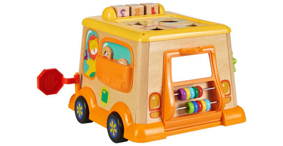 MOTORIKSPIEL - Gelb/Multicolor, Basics, Holz/Holzwerkstoff (25,6/21,1/19,5cm) - My Baby Lou