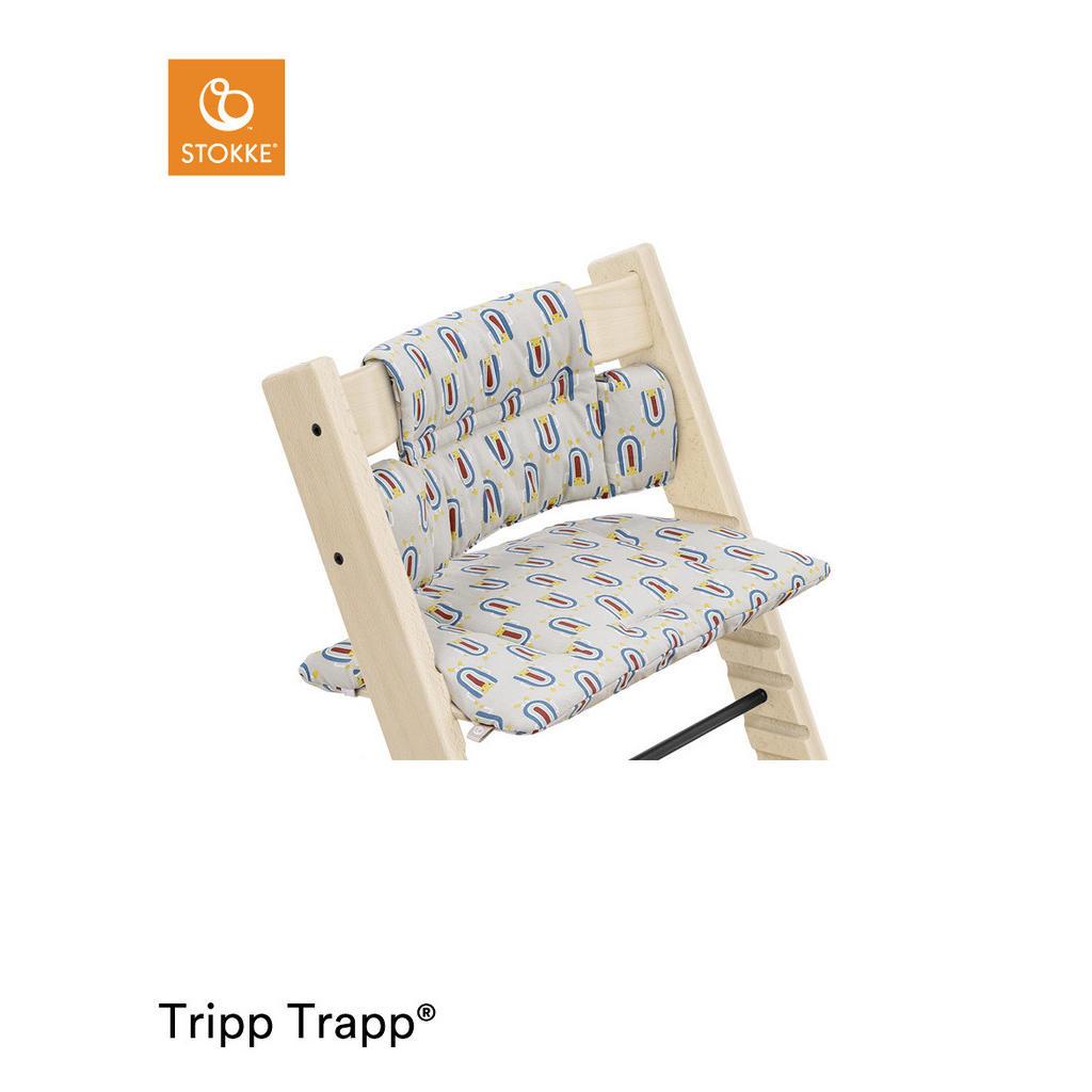 Stokke HOCHSTUHLEINLAGE Robot Grey Tripp Trapp Sitzkissen